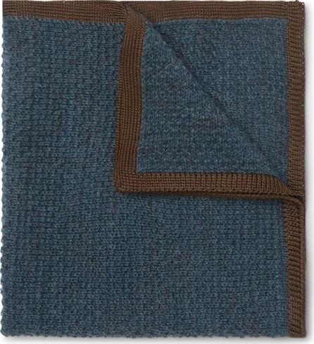Brioni Cashmere and Silk-Blend Pocket Square
