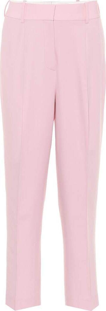 Bottega Veneta Cropped wool gabardine trousers