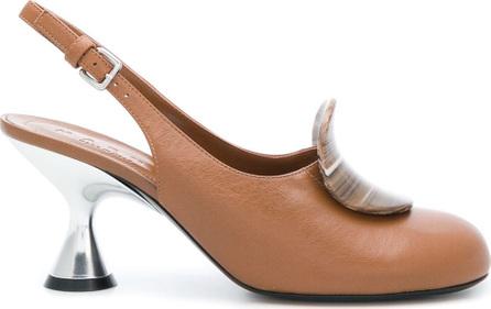 Marni Slingback round toe mules