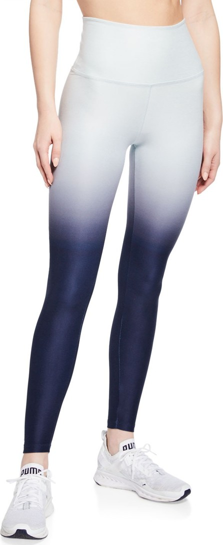 Beyond Yoga Space-dye High-Waist Ombre Performance Leggings