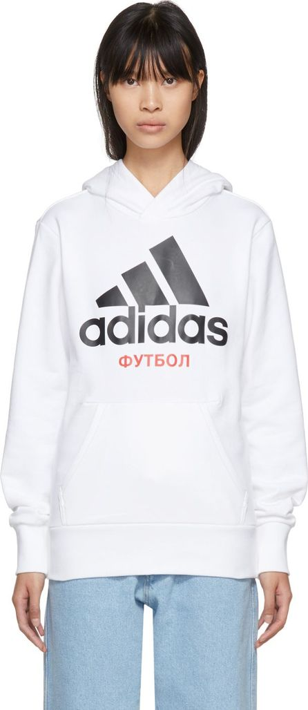 Gosha Rubchinskiy White adidas Originals Edition Hoodie