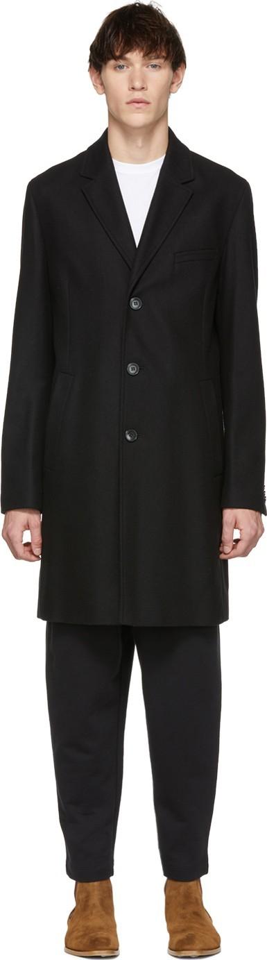 HUGO Black Malte Coat