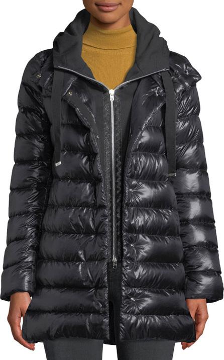 Herno Puffer Coat w/ Removable Fleece Underlay