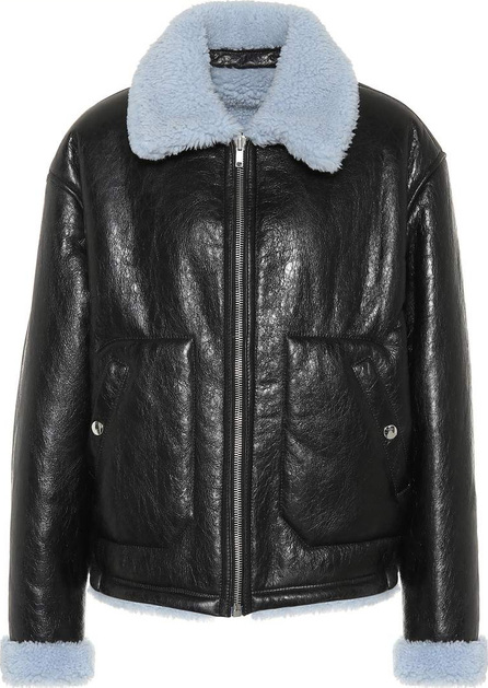 McQ - Alexander McQueen Reversible leather shearling jacket