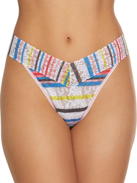 Hanky Panky Brighton Stripe Original-Rise Lace Thong