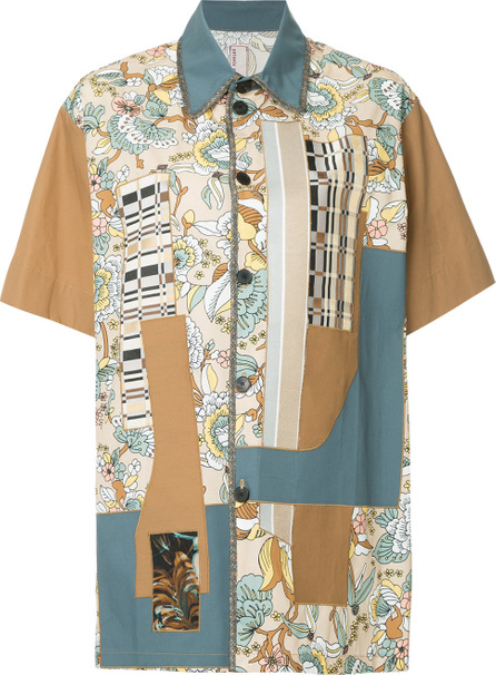 Antonio Marras Patchwork short sleeve shirt