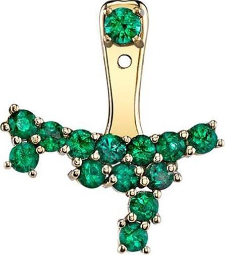 Anita Ko emerald ear cluster