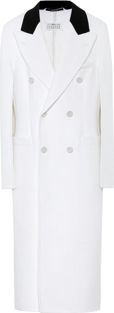 Maison Margiela Wool, angora and cashgora coat