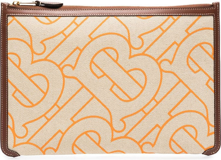 Burberry London England Phyllis Monogram-print pouch