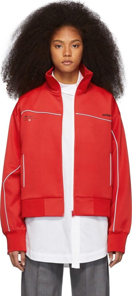 ADER error Red Ade Track Jacket