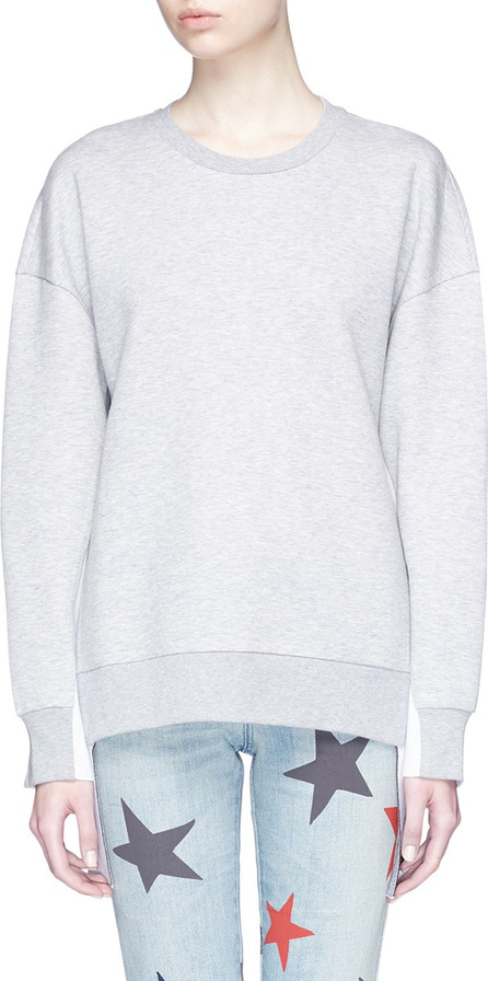 Stella McCartney 'All Is Love' slogan sash sweatshirt