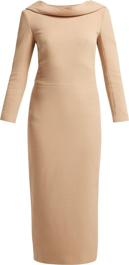 Carl Kapp Noah wool-crepe dress