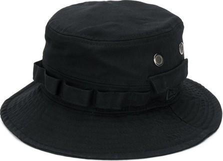 Yohji Yamamoto Logo patch bucket hat