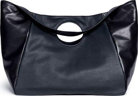 A-Esque 'Carry All' colourblock leather bag
