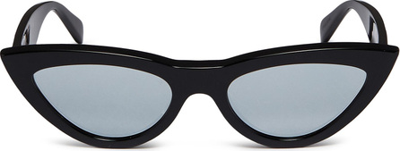 Celine Mirror acetate cat eye sunglasses