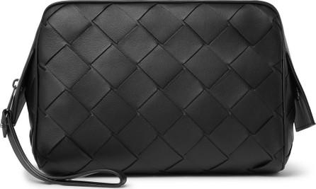 Bottega Veneta Intrecciato Leather Wash Bag