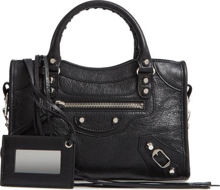 Balenciaga Mini Arena City Leather Satchel