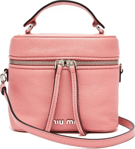 Miu Miu Leather cross-body beauty case