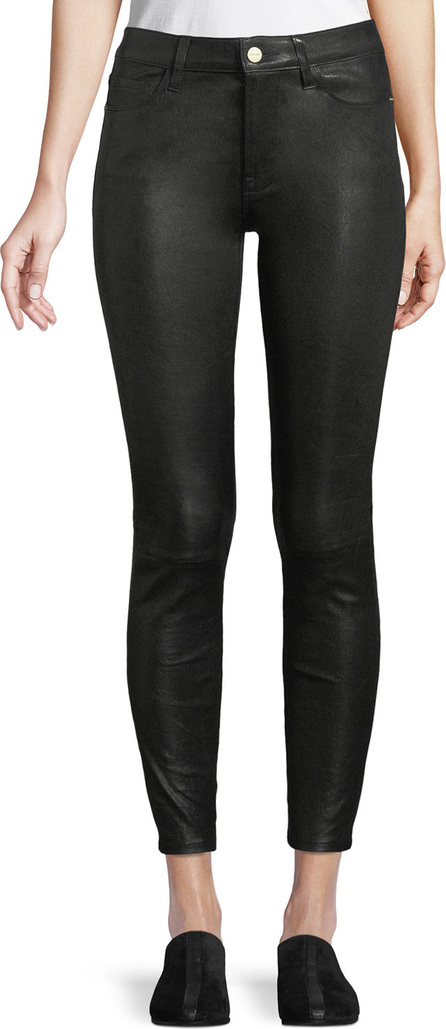 FRAME DENIM Le High Skinny Leather Pants