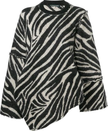 Alexa Chung Tiger print cape