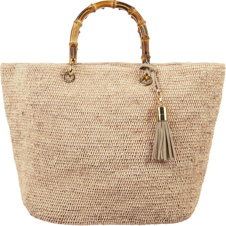 HEIDI KLEIN Savannah Bay Medium Raffia Tote Bag