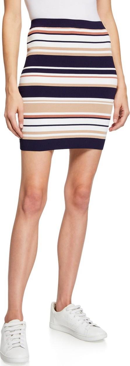 Bardot Multi Stripe Pull-On Tube Skirt