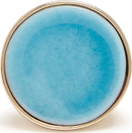 Etro Ceramic-disc signet ring