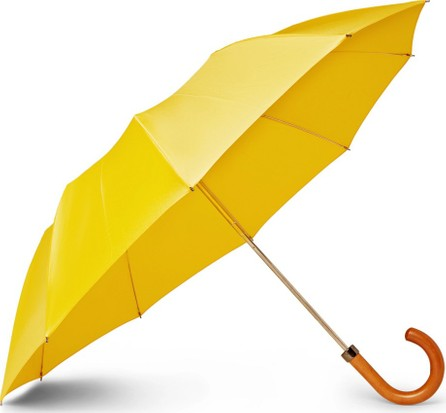 London Undercover Maple Wood-Handle Umbrella
