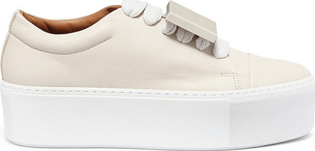 Acne Studios 'Adriana' emoticon plate leather platform sneakers