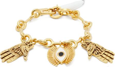 Chloe Eye and hand-charm bracelet