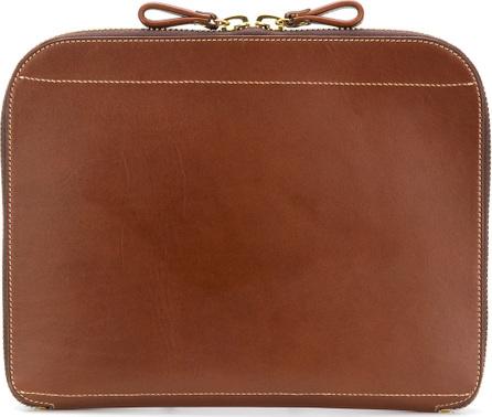 Al Duca D'Aosta 1902 Square clutch bag