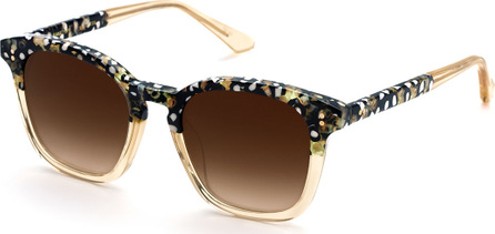 KREWE Prytania Square Acetate Sunglasses