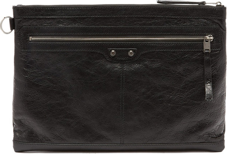 Balenciaga Classic City Large leather pouch