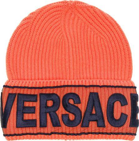 Versace Logo Beanie