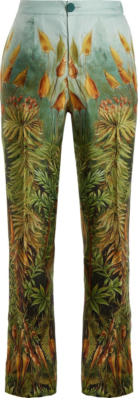 F.R.S For Restless Sleepers Crono floral-print silk-twill pyjama trousers