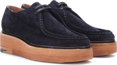 Dries Van Noten Suede platform loafers