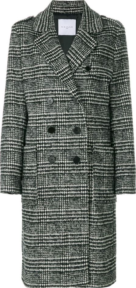 Gaelle Bonheur double-breasted checked coat