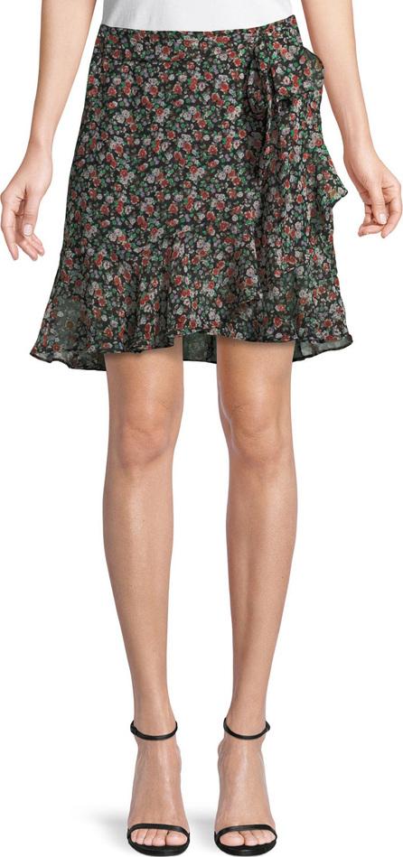 Rebecca Minkoff Alice Floral-Print A-Line Skirt