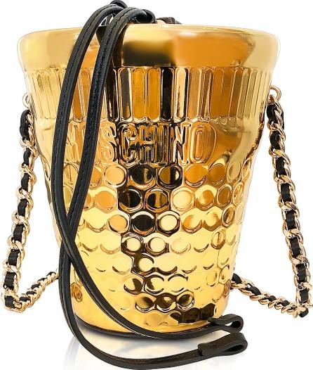 Moschino Golden Bucket Bag