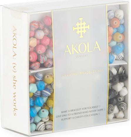 Akola Karatasi Build-Your-Own-Bracelet Set