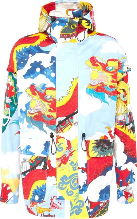 Angel Chen Dragon Junk graphic print hooded unisex parka