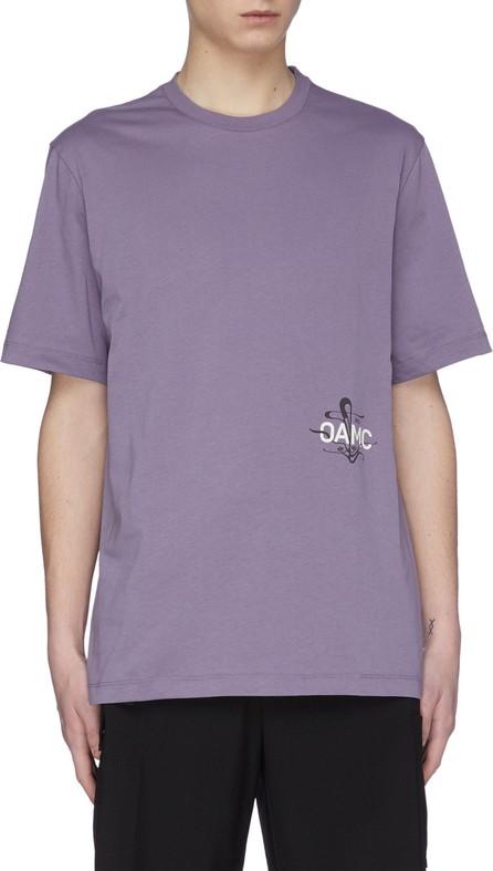 Oamc '1923' logo print T-shirt