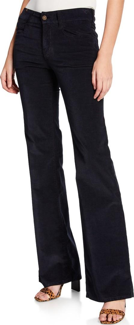 Notify Dahlia High-Rise Velvet Flare Jeans