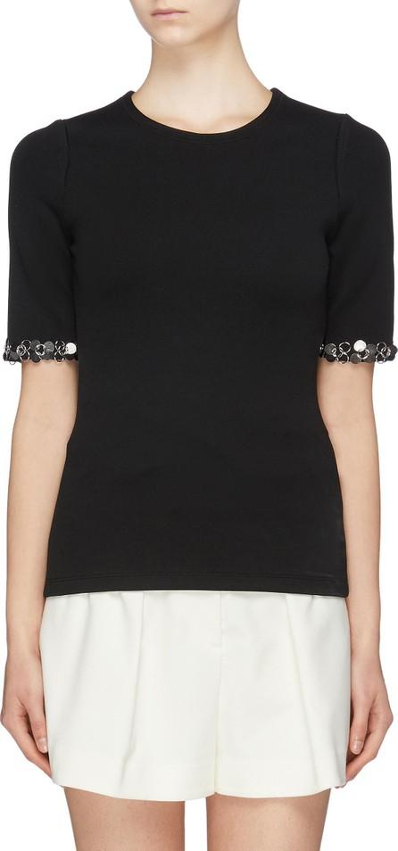 3.1 Phillip Lim Ring paillette cuff T-shirt