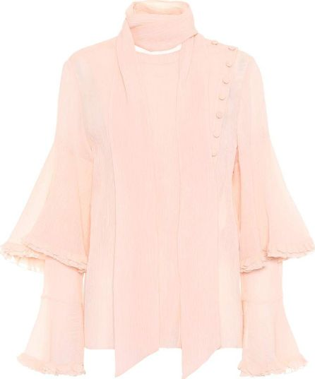 Chloe Cotton and silk top
