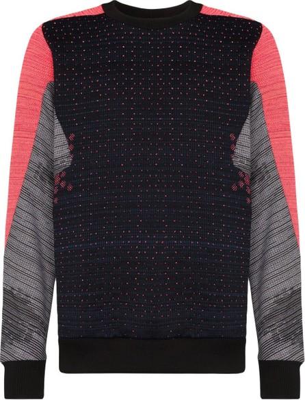 Byborre Panelled loose-fit sweatshirt