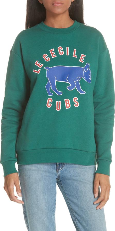 Etre Cecile être cécile Cubs Boyfriend Sweatshirt