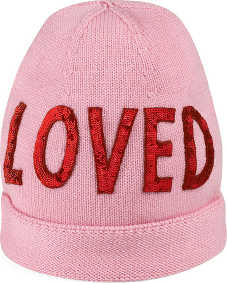 Gucci Loved Sequin Wool Beanie
