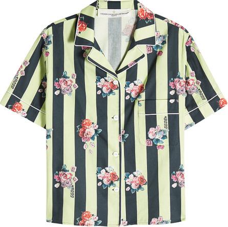 Golden Goose Deluxe Brand Verbena Printed Shirt