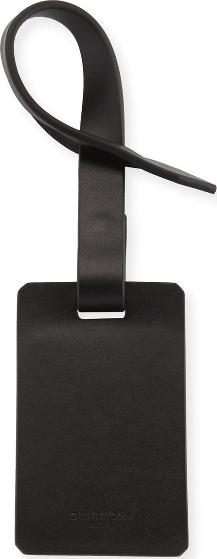 Givenchy Horizon Smooth Leather Luggage Tag